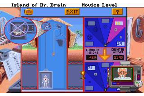 Island of Dr. Brain, The Download (1992 Puzzle Game)