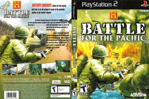 GAME PS2: The History Channel Battle For The Pacific