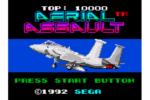 Aerial Assault Download Game | GameFabrique