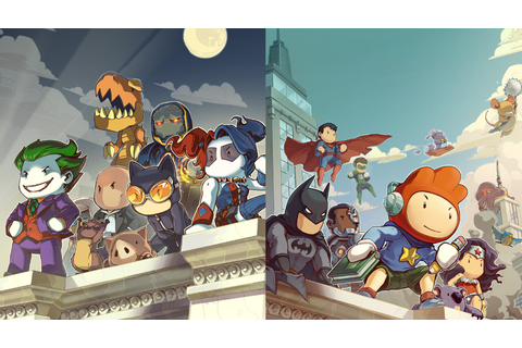 Scribblenauts Unmasked: A DC Comics Adventure 3DS Review ...