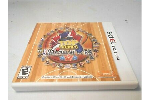 Top Trumps: NBA All Stars (Nintendo 3DS) game xl 2ds ...