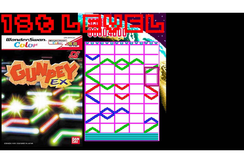 GunPey EX (2000, WonderSwan Color) - 1st Level - YouTube