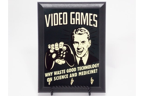Video Games Why Waste Good Technology On Science And by ...