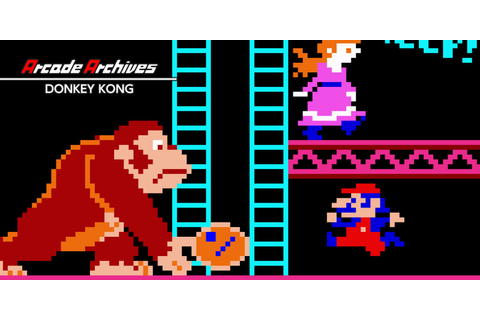 Arcade Archives DONKEY KONG | Nintendo Switch download ...