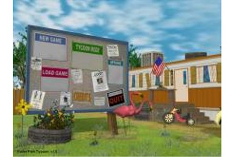 Trailer Park Tycoon Download (2002 Simulation Game)