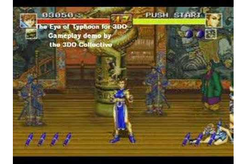 Eye of Typhoon for 3DO Gameplay demo - YouTube