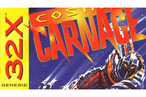 Classic Game Room HD - COSMIC CARNAGE for Sega 32X review ...
