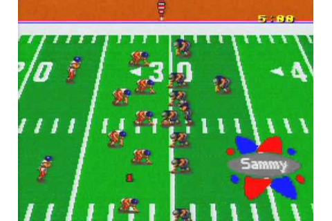 Football Fury Game Sample - SNES/SFC - YouTube