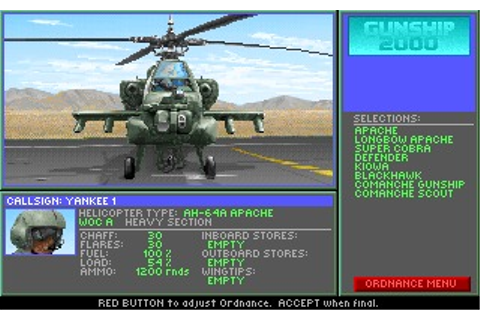 Gunship 2000 (Amiga) Game Download