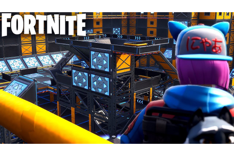 EXPLORING BOUNCE PAD DEATHMATCH MAP || FORTNITE CREATIVE ...