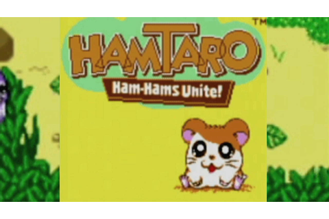 CGR Undertow - HAMTARO: HAM-HAMS UNITE review for Game Boy ...