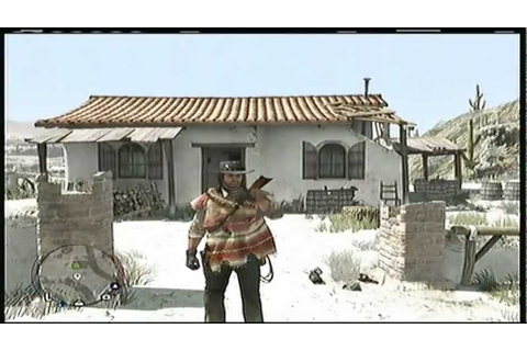 Red Dead Redemption: How to get the Mexican Poncho Outfit ...