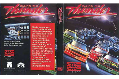 Days of Thunder | 80'S Top Games