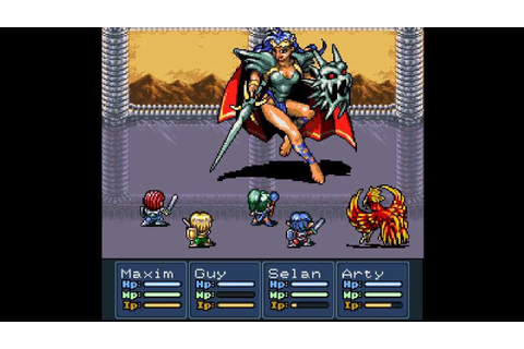 "Android version of SNES Game ""Lufia 2: Rise Of The ..."