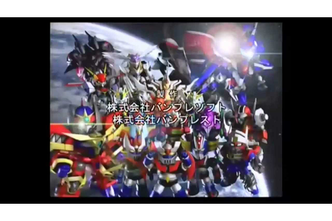 Super Robot Taisen MX Review - YouTube