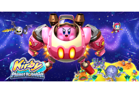 Kirby: Planet Robobot | Nintendo 3DS | Games | Nintendo