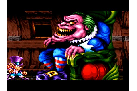 Nightmare Busters (SNES) All Bosses (No Damage) - YouTube