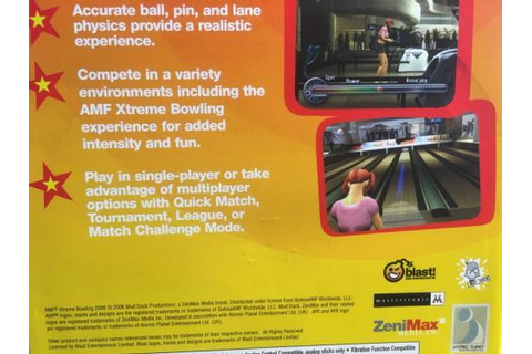 Games - PS2 - AMF Xtreme Bowling 2006 for sale in ...