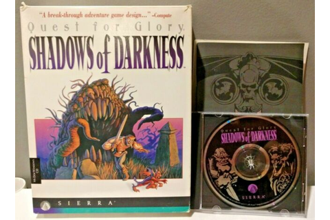 1994 Quest for Glory IV: Shadows of Darkness PC Game BIG ...