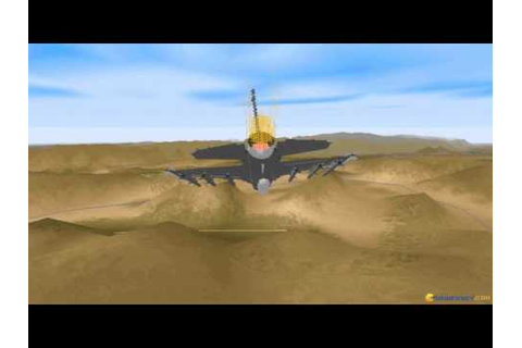 F-16 Fighting Falcon gameplay (PC Game, 1996) - YouTube