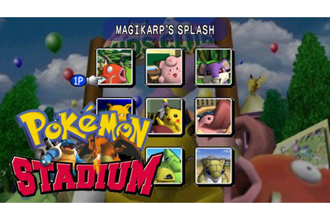 Pokemon Stadium Mini-Games! - YouTube