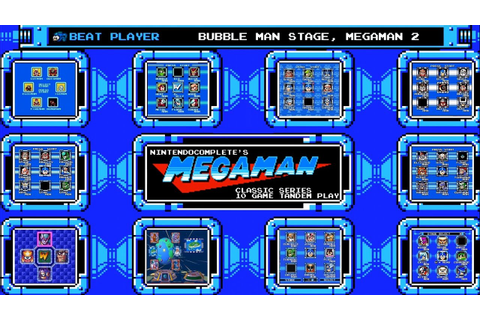 Mega Man Classic Series: 10 Game Tandem Playthrough ...