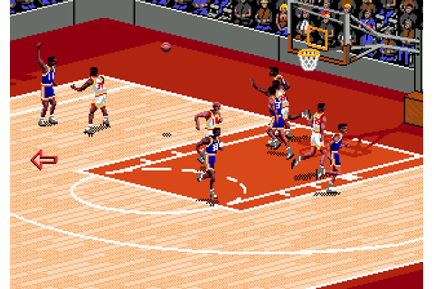 NBA Live 95 (1994) by Hitmen Productions Mega Drive game