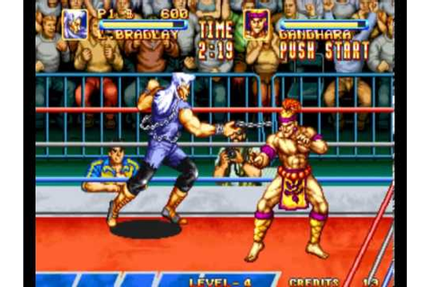 3 Count Bout / Fire Suplex (arcade game by SNK, 1993 ...