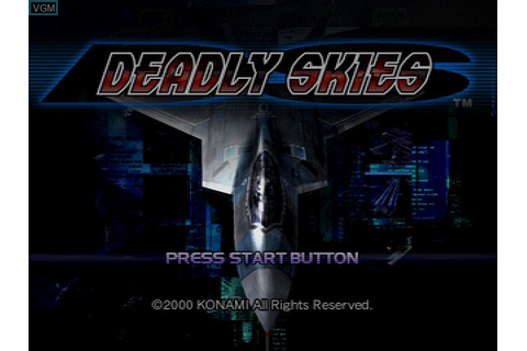 Deadly Skies for Sega Dreamcast - The Video Games Museum