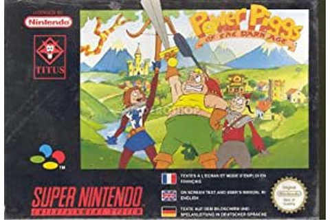 Power piggs of the dark age - Super Nintendo - PAL: Amazon.co.uk: PC ...
