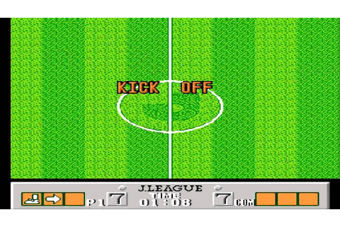 J League Fighting Soccer The King of Ace Strikers NES ...