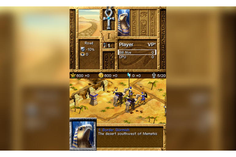Play Age of Empires - Mythologies (Europe) (En, Fr, De, Es ...