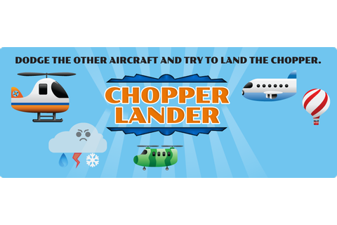 Crave Creative: Chopper Lander Game