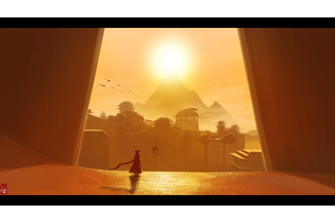 Painting progress with Photoshop , PS3 game - Journey ...