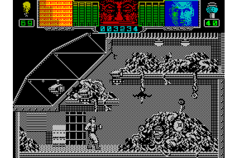 Hammerfist (1990) by Vivid Image ZX Spectrum game