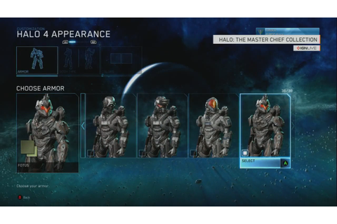 Halo: The Master Chief Collection Armor Customization ...