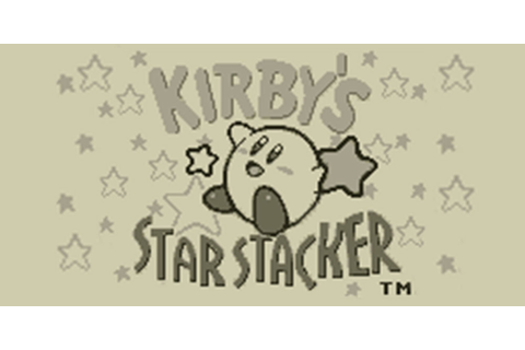 Kirby's Star Stacker | Virtual Console (Nintendo 3DS ...