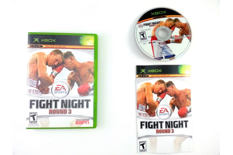 Fight Night Round 3 game for Xbox (Complete) | The Game Guy