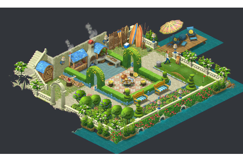 ArtStation - Gardenscapes: New Acres - Artdump, Ilya ...