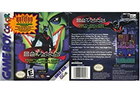 Amazon.com: Batman Beyond Return of the Joker: Video Games