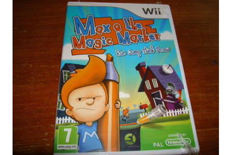 Max and the Magic Marker (Nintendo Wii, 2010) for sale ...
