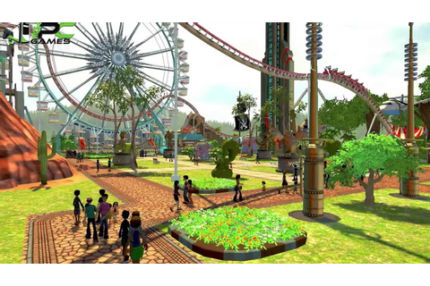 RollerCoaster Tycoon World [V61951] Highly Compressed Free ...