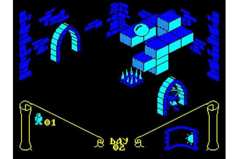 Knight Lore review on the Amstrad CPC 464. - YouTube