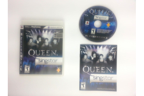 Singstar: Queen game for Playstation 3 (Complete) | The ...