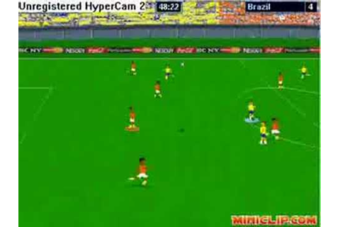 super web soccer match Brazil - Ivory Coast - YouTube