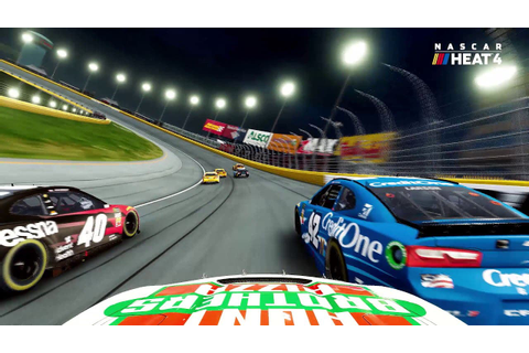 NASCAR Heat 4 announced, set to release on PC, PS4, and ...