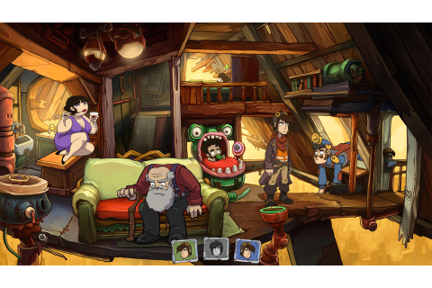 Save 90% on Goodbye Deponia on Steam