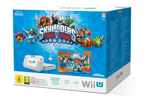 Skylanders Trap Team Video Game Wii U