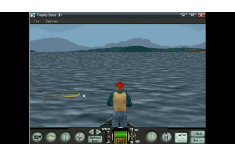 Old Windows game - Sierra Trophy Bass 3D (1999) - YouTube