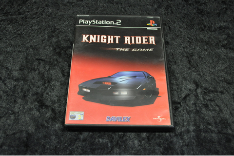 Playstation 2 Knight Rider The Game - Retrogameking.com ...